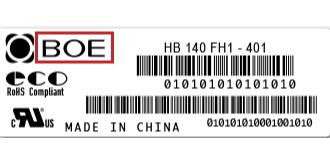 Boe-label| فروشگاه لپ تاپ اسکرین| لپ تاپ| ال سی دی| پارت نامبر
