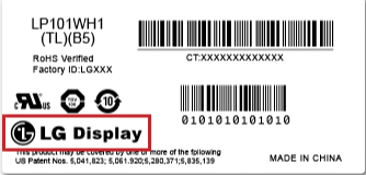 LG-Label| فروشگاه لپ تاپ اسکرین| لپ تاپ| ال سی دی| پارت نامبر