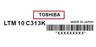 Toshiba-Label| فروشگاه لپ تاپ اسکرین| لپ تاپ| ال سی دی| پارت نامبر