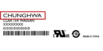 chunghwa-Label| فروشگاه لپ تاپ اسکرین| لپ تاپ| ال سی دی| پارت نامبر