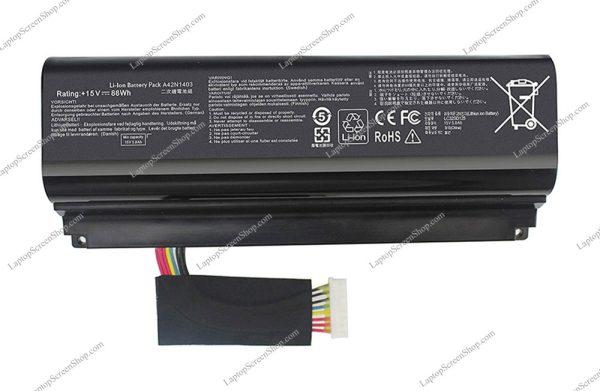 ASUS-ROG-G751-JL-BATTERY |فروشگاه لپ تاپ اسکرين | تعمير لپ تاپ