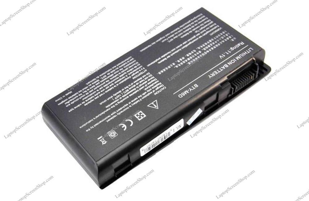 MSI-GT-683-278-AU-BATTERY  فروشگاه لپ تاپ اسکرين   تعمير لپ تاپ