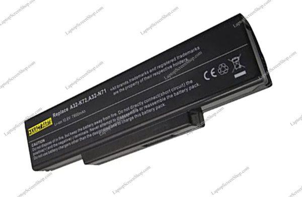 ASUS--N73F-BATTERY |فروشگاه لپ تاپ اسکرين | تعمير لپ تاپ