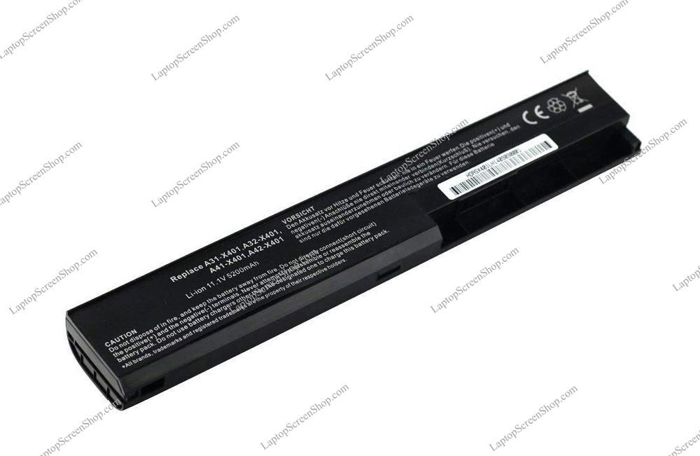 ASUS-X401A-BATTERY  فروشگاه لپ تاپ اسکرين   تعمير لپ تاپ