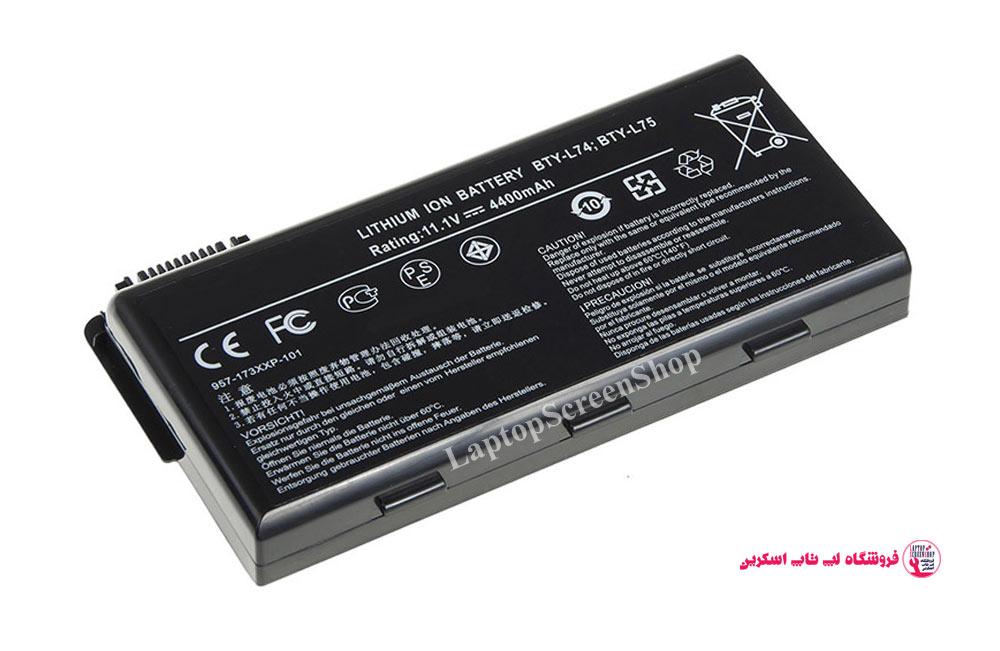 MSI-91NMS17LD4SUD-BATTERY |فروشگاه لپ تاپ اسکرين| تعمير لپ تاپ|