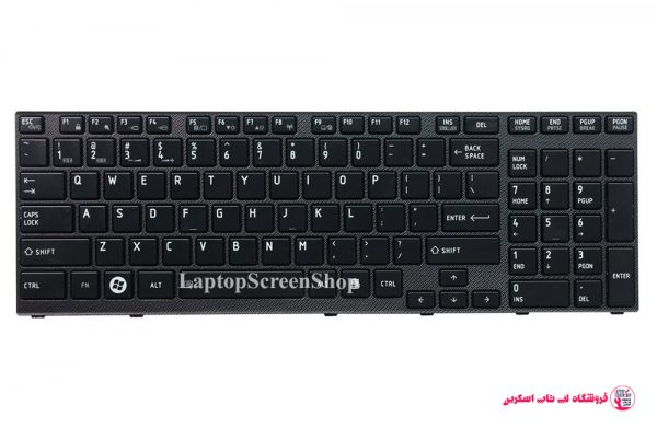 TOSHIBA-SATELLITE A660-KEYBOARD |فروشگاه لپ تاپ اسکرين| تعمير لپ تاپ