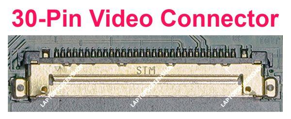 MSI -GF63- 8RD- 051BE-CONNECTOR FHD 30PIN  فروشگاه لپ تاپ اسکرين   تعمير لپ تاپ
