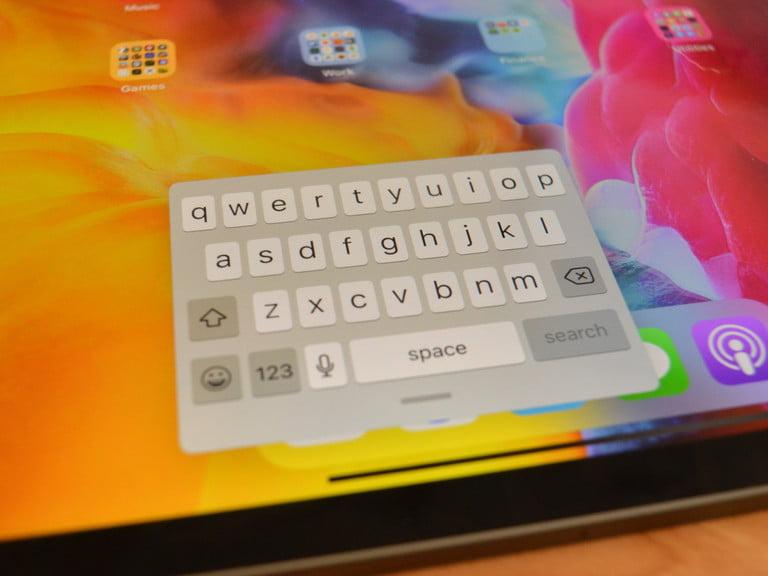 floating keyboard