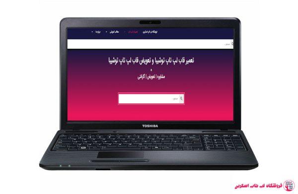 TOSHIBA-C660-M202-FRAME  فروشگاه لپ تاپ اسکرين   تعمير لپ تاپ