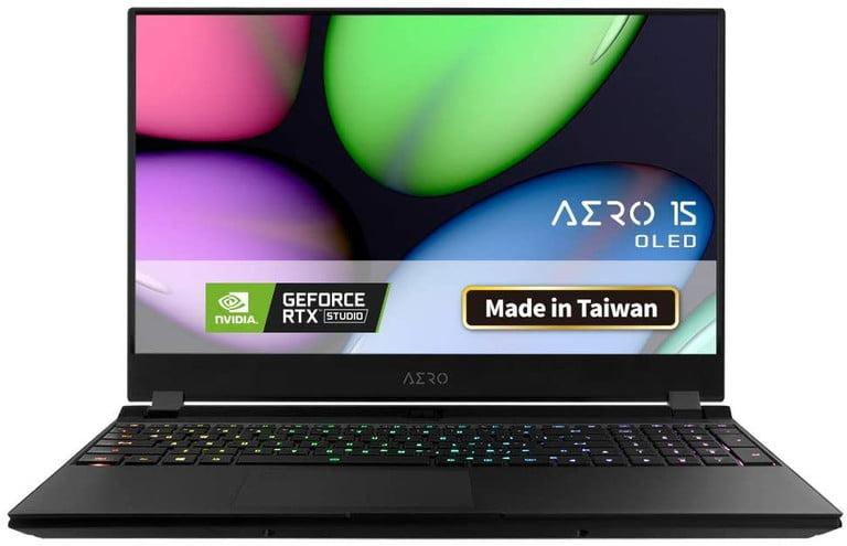 بهترین صفحه نمایش oled Gigabyte Aero 15 OLED