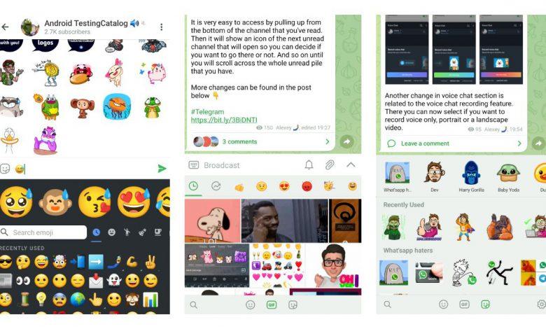 Telegram| نسخه ی جدید تلگرام