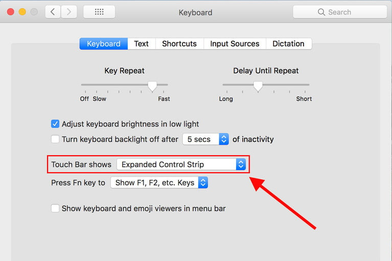 touch-bar-settings-MacBook