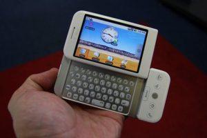HTC-T-Mobile G1 *ظاهر اولین گوشی هوشمند